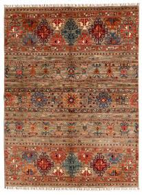 Shabargan Rug 153X209 Authentic  Modern Handknotted Dark Brown/Light Brown (Wool, Afghanistan)