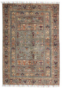 Shabargan Rug 105X151 Authentic  Modern Handknotted Light Grey/Light Brown (Wool, Afghanistan)