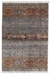 Shabargan Rug 102X146 Authentic  Modern Handknotted Dark Grey/Light Grey (Wool, Afghanistan)