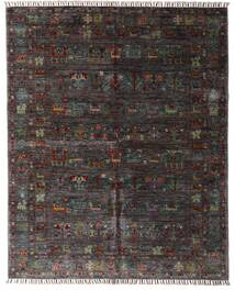 Shabargan Rug 159X195 Authentic  Modern Handknotted Dark Brown/Dark Grey (Wool, Afghanistan)