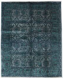 Mirage Rug 154X197 Authentic  Modern Handknotted Dark Blue/Blue (Wool, Afghanistan)