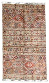 Shabargan Rug 97X168 Authentic  Modern Handknotted Light Grey/Dark Red (Wool, Afghanistan)