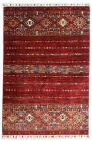 Shabargan Rug 102X152 Authentic  Modern Handknotted Dark Red (Wool, Afghanistan)