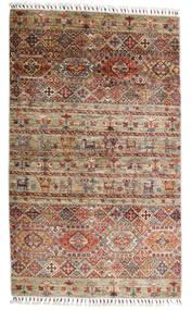 Shabargan Rug 102X171 Authentic  Modern Handknotted Light Brown/Dark Brown (Wool, Afghanistan)