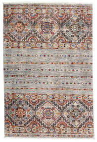 Sharbargan Rug 82X122 Authentic  Modern Handknotted Light Grey/White/Creme (Wool, Afghanistan)