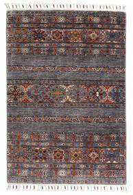 Sharbargan Rug 82X119 Authentic  Modern Handknotted Dark Brown/Dark Grey (Wool, Afghanistan)