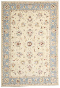 Ziegler Ariana Rug 203X296 Authentic Oriental Handknotted Beige/Light Grey (Wool, Afghanistan)