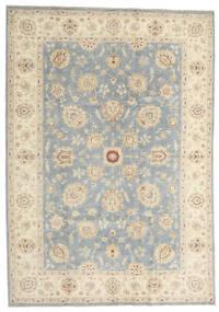 Ziegler Ariana Rug 207X293 Authentic  Oriental Handknotted Beige/Light Grey (Wool, Afghanistan)