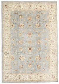Ziegler Ariana Rug 201X293 Authentic Oriental Handknotted Light Grey/Beige (Wool, Afghanistan)