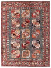 Kazak Rug 152X202 Authentic Oriental Handknotted Dark Red/Brown (Wool, Afghanistan)
