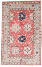 Kazak Rug 121X190 Authentic  Oriental Handknotted Light Grey/Light Pink (Wool, Afghanistan)