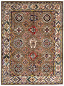 Kazak Rug 270X359 Authentic  Oriental Handknotted Brown/Light Brown Large (Wool, Afghanistan)