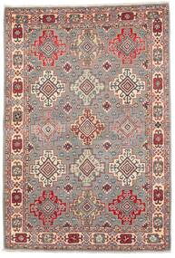 Kazak Rug 121X177 Authentic  Oriental Handknotted Light Grey/Dark Red (Wool, Afghanistan)