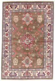 Kazak Rug 119X179 Authentic  Oriental Handknotted Brown/Light Grey (Wool, Afghanistan)
