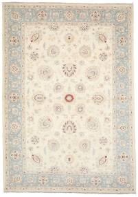 Ziegler Ariana Rug 207X294 Authentic  Oriental Handknotted Beige/Light Grey (Wool, Afghanistan)