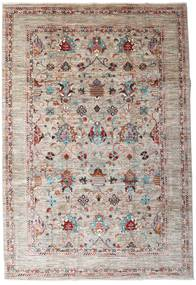 Mirage Rug 209X310 Authentic  Modern Handknotted Light Grey/Light Brown (Wool, Afghanistan)