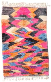 Berber Moroccan - Mid Atlas Rug 100X152 Authentic  Modern Handknotted Pink/Light Pink (Wool, Morocco)