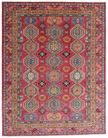 Mirage Rug 245X316 Authentic Modern Handknotted Dark Red/Rust Red (Wool, Afghanistan)