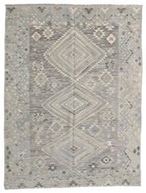 Kilim Modern Rug 182X236 Authentic  Modern Handwoven Light Grey (Wool, Afghanistan)