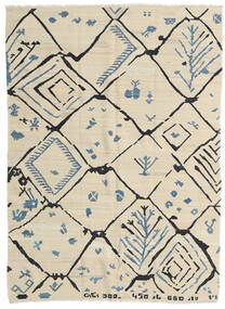 Kilim Modern Rug 175X237 Authentic  Modern Handwoven Dark Beige/Beige (Wool, Afghanistan)