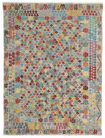 Kilim Afghan Old Style Rug 174X231 Authentic  Oriental Handwoven Light Grey/Dark Grey (Wool, Afghanistan)