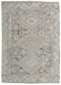 Kilim Ariana Rug 176X244 Authentic  Modern Handwoven Light Grey (Wool, Afghanistan)