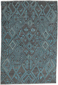 Kilim Modern Rug 197X291 Authentic  Modern Handwoven Light Blue/Blue (Wool, Afghanistan)