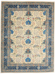 Kazak Rug 275X363 Authentic Oriental Handknotted Light Grey/Beige Large (Wool, Afghanistan)