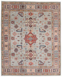Kazak Rug 244X299 Authentic  Oriental Handknotted Light Grey/Light Brown (Wool, Afghanistan)