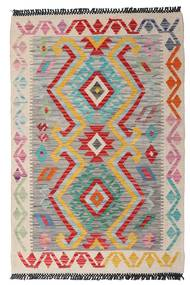 Kilim Afghan Old Style Rug 82X124 Authentic  Oriental Handwoven Light Grey/Light Pink (Wool, Afghanistan)