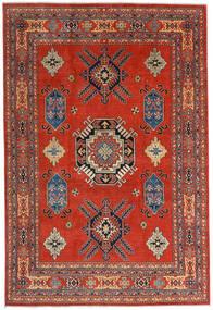Kazak Rug 207X305 Authentic  Oriental Handknotted Rust Red/Dark Red (Wool, Afghanistan)