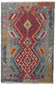 Kilim Afghan Old Style Rug 81X126 Authentic  Oriental Handwoven Light Grey/Dark Grey/Dark Red (Wool, Afghanistan)