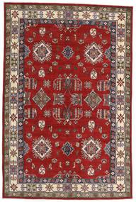 Kazak Rug 182X275 Authentic  Oriental Handknotted Rust Red/Dark Red (Wool, Afghanistan)
