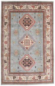 Kazak Rug 195X304 Authentic  Oriental Handknotted Light Grey/Light Brown (Wool, Afghanistan)