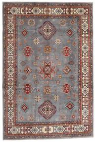 Kazak Rug 194X290 Authentic  Oriental Handknotted Dark Brown/Light Grey (Wool, Afghanistan)