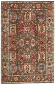 Kazak Rug 197X299 Authentic  Oriental Handknotted Light Brown/Dark Brown (Wool, Afghanistan)
