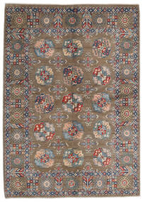 Kazak Rug 165X231 Authentic Oriental Handknotted Light Grey/Light Brown (Wool, Afghanistan)