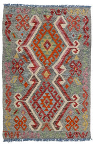 Kilim Afghan Old Style Rug 80X118 Authentic Oriental Handwoven Dark Grey/Dark Red/Light Grey (Wool, Afghanistan)