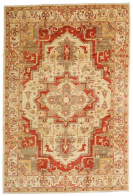 Ziegler Ariana Rug 199X306 Authentic Oriental Handknotted Dark Beige/Light Brown (Wool, Afghanistan)