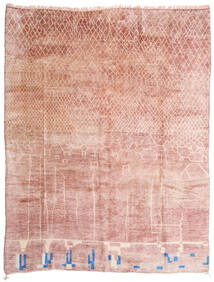 Berber Moroccan - Mid Atlas Rug 305X396 Authentic  Modern Handknotted Light Pink/Beige Large (Wool, Morocco)