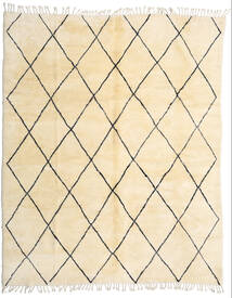 Berber Moroccan - Beni Ourain Rug 280X345 Authentic  Modern Handknotted Beige/Dark Beige Large (Wool, Morocco)