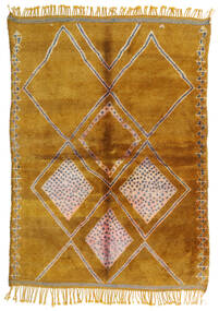Berber Moroccan - Mid Atlas Rug 190X265 Authentic  Modern Handknotted Light Brown/Brown (Wool, Morocco)