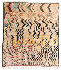 Berber Moroccan - Mid Atlas Rug 256X287 Authentic  Modern Handknotted Beige/Dark Brown Large (Wool, Morocco)
