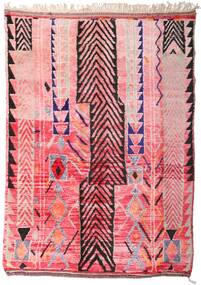 Berber Moroccan - Mid Atlas Rug 213X300 Authentic  Modern Handknotted Light Pink/Pink (Wool, Morocco)