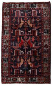 Hamadan Rug 131X213 Authentic Oriental Handknotted Dark Red (Wool, Persia/Iran)