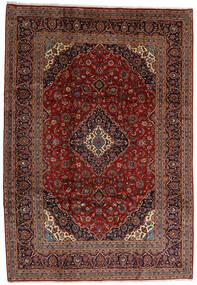 Keshan Rug 245X354 Authentic  Oriental Handknotted Dark Brown/Dark Red (Wool, Persia/Iran)