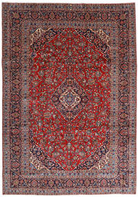 Keshan Rug 251X360 Authentic  Oriental Handknotted Dark Red/Dark Purple Large (Wool, Persia/Iran)