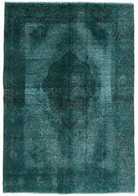 Vintage Heritage Rug 143X209 Authentic  Modern Handknotted Dark Turquoise   (Wool, Persia/Iran)
