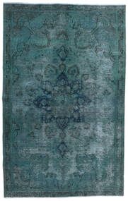 Vintage Heritage Rug 147X233 Authentic  Modern Handknotted Dark Turquoise  /Blue (Wool, Persia/Iran)
