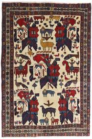 Afshar Rug 126X188 Authentic Oriental Handknotted Dark Grey/Dark Red (Wool, Persia/Iran)